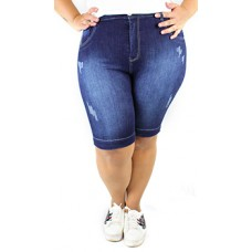 Bermuda Jeans Zamper's Plus Size