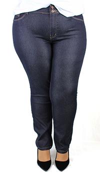 Calça Jeans LooperPlusSize Preta