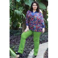 Tunica Plus size feminina  tricot Amarras
