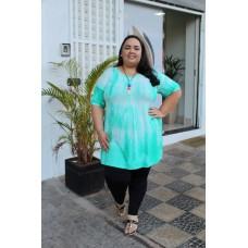 Bata plus size feminina Tie Dye Garage