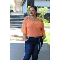 Blusa Ciganinha  plus size feminina Repenique