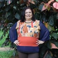 Blusa plus size feminina Estampada Estilo Maior