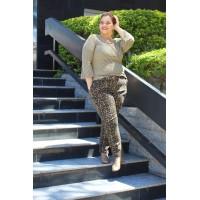 Blusa  plus size feminina com Detalhes em Lurex Urbana Modas