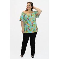 Blusa Estampada Ombro-a-Ombro Athena's