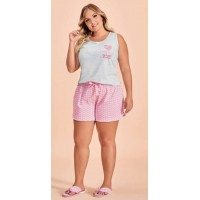 Conjunto Short Doll Regata Nob