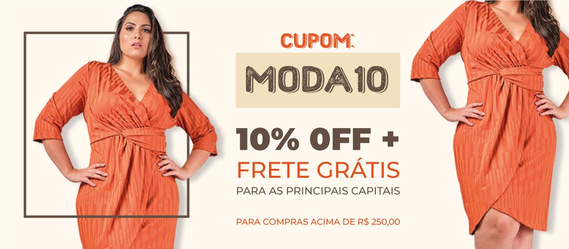 Cupom Moda10